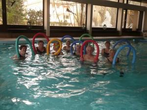 Aqua Fitness Gruppe, mittwochs 15 Uhr im Maritim